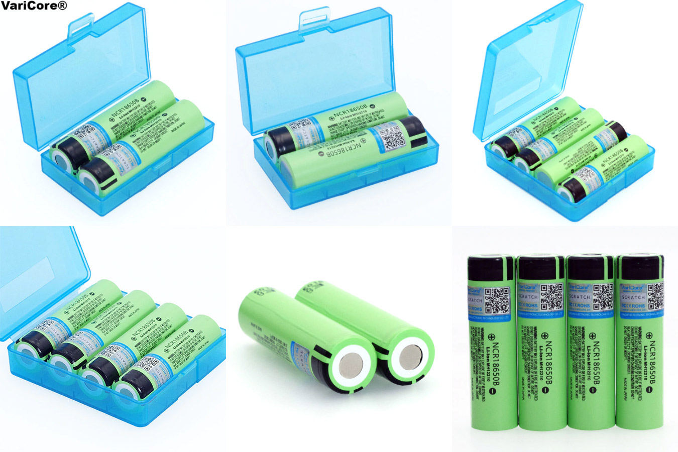Батареи с коробочкой для хранения