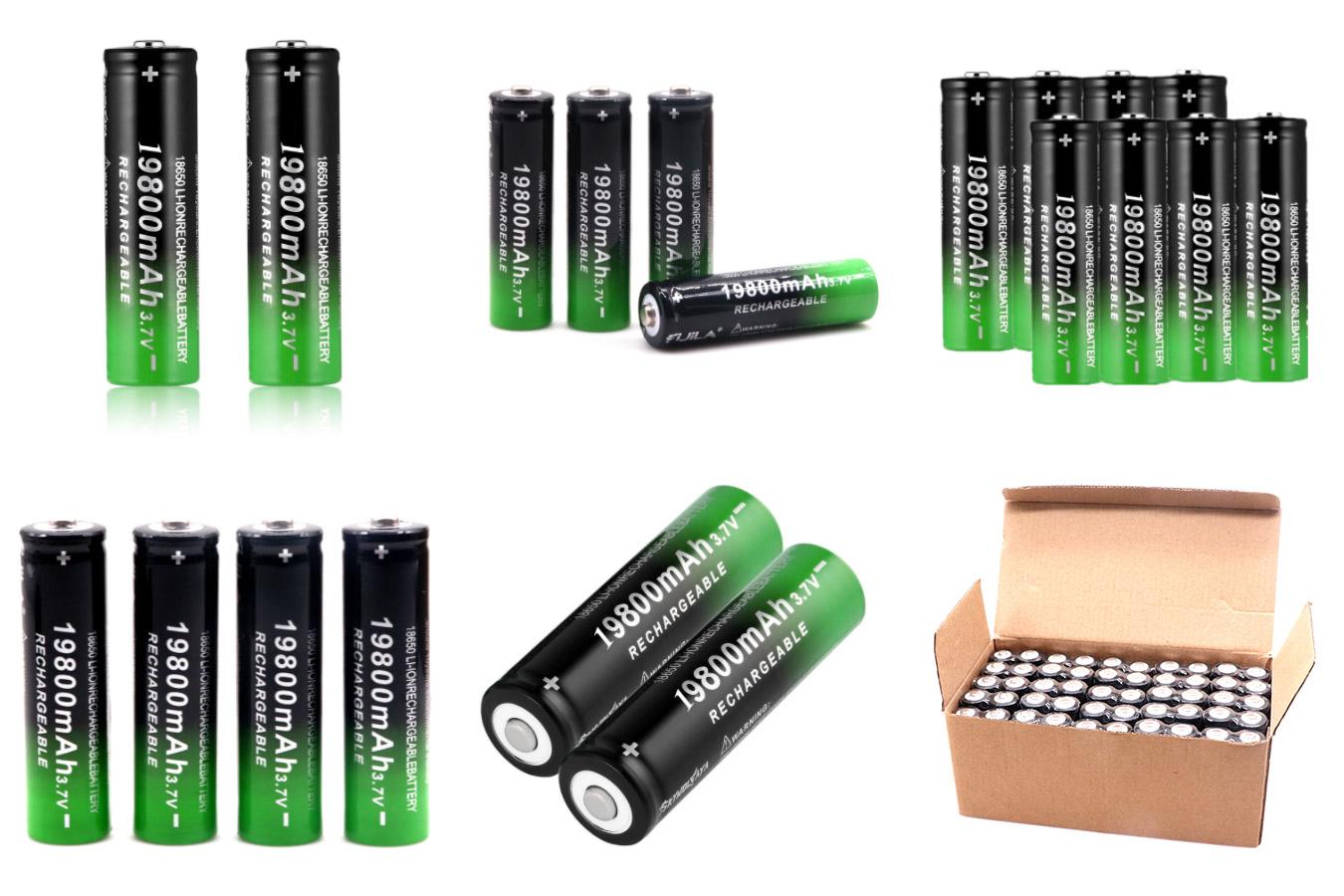 Литий-ионные аккумуляторы для светодиодных фонариков