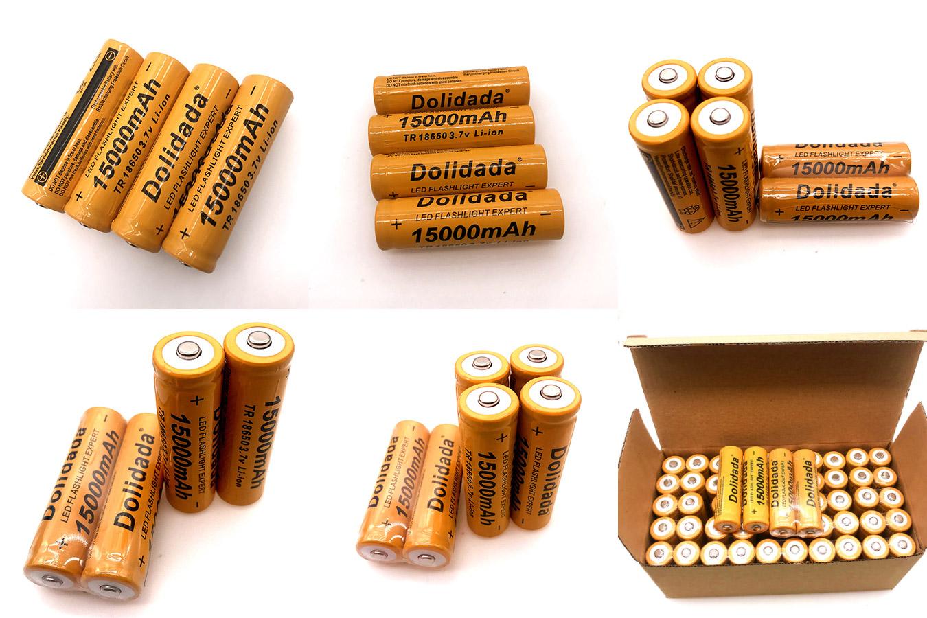 Перезаряжаемые батареи для электроприборов