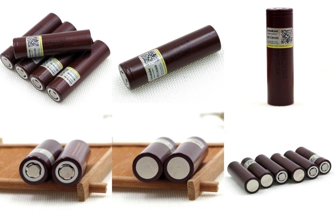 Цилиндрические литий-ионные батареи