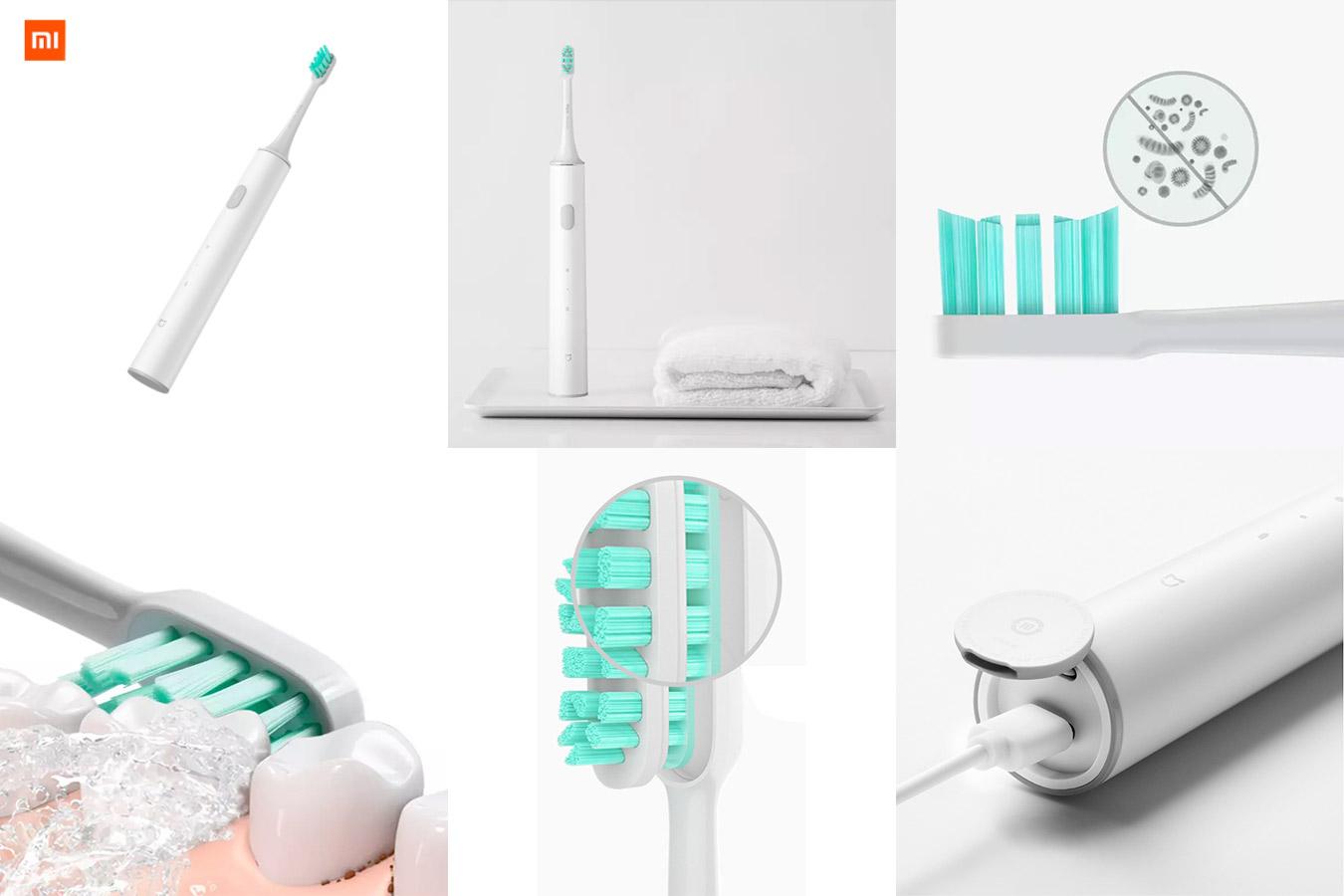 Звуковая электрическая зубная щетка