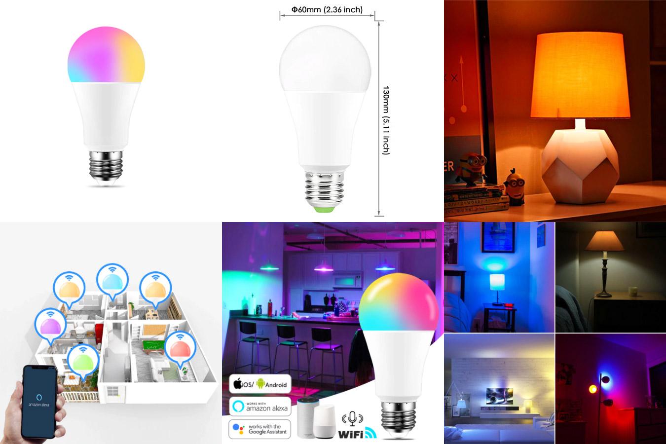 Умная светодиодная лампа