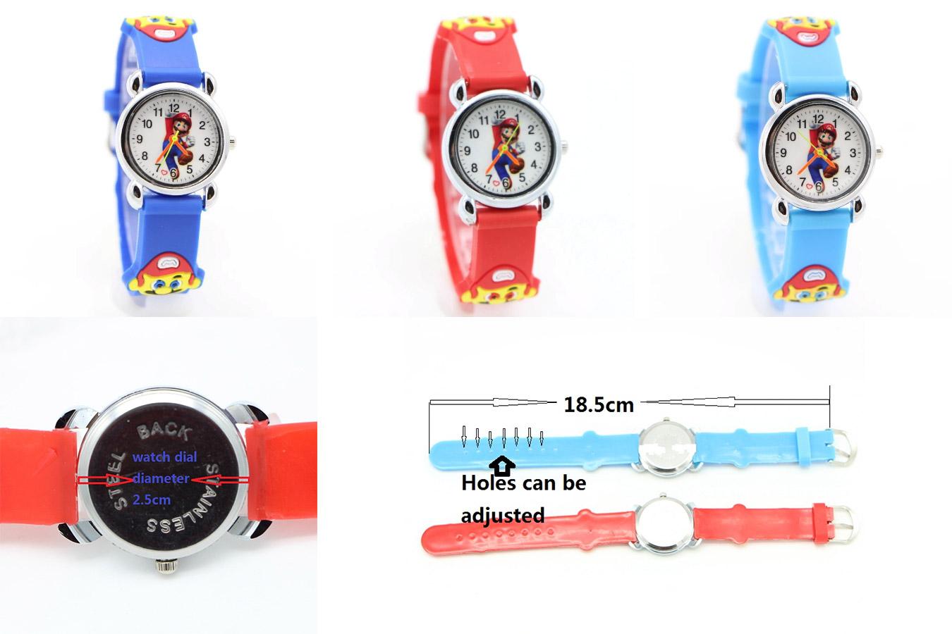 Простые часы для мальчика