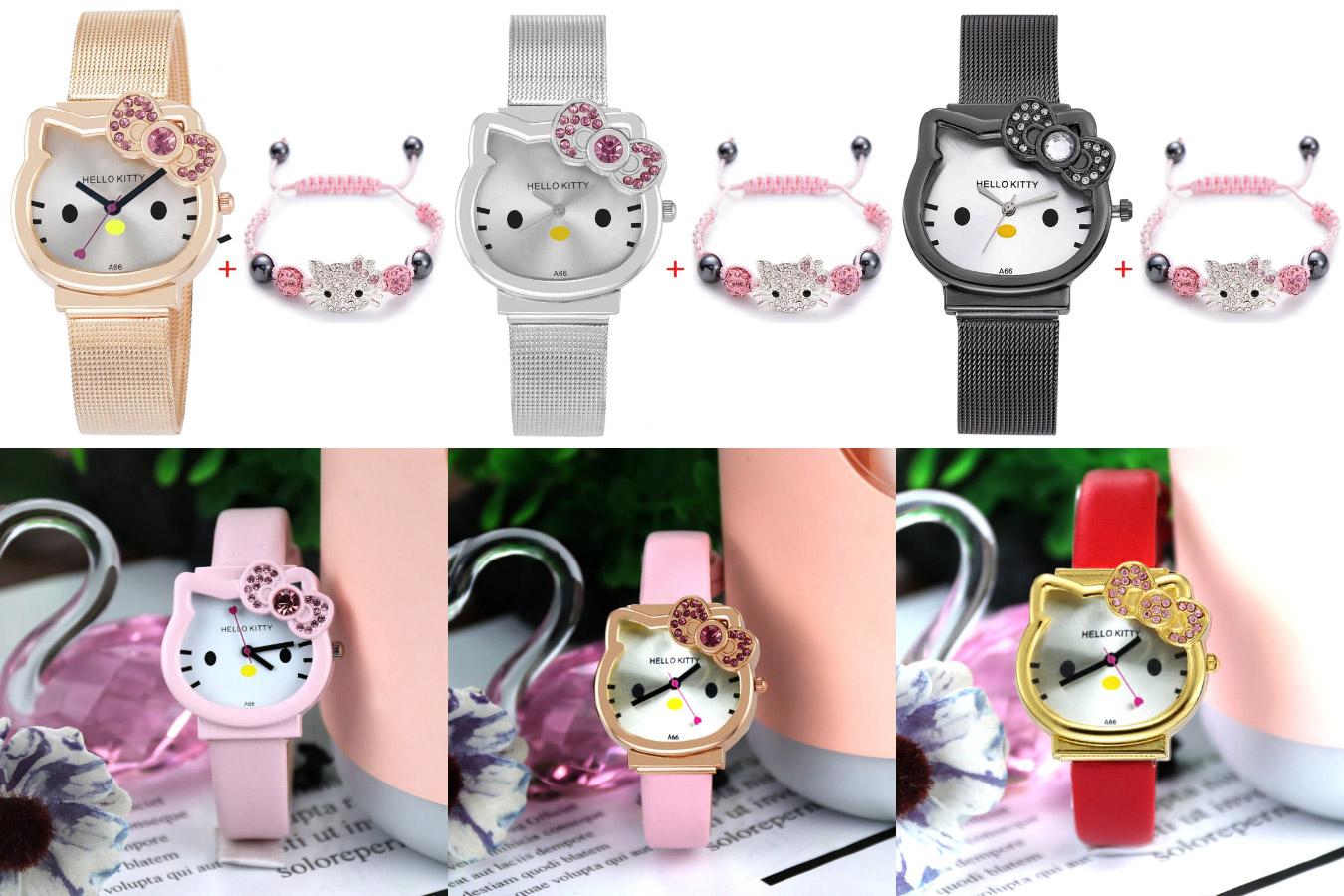 Часы для девочек Hello Kitty