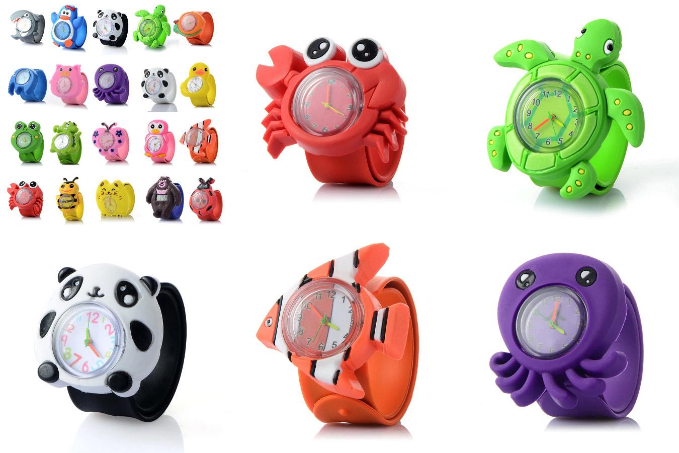 Часы с 3D животными