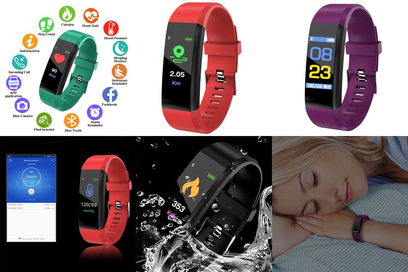Электронные спортивные часы