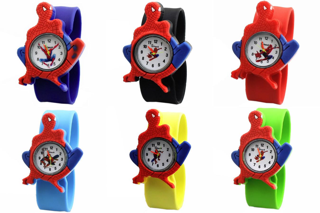 Часы Человек-Паук для детей
