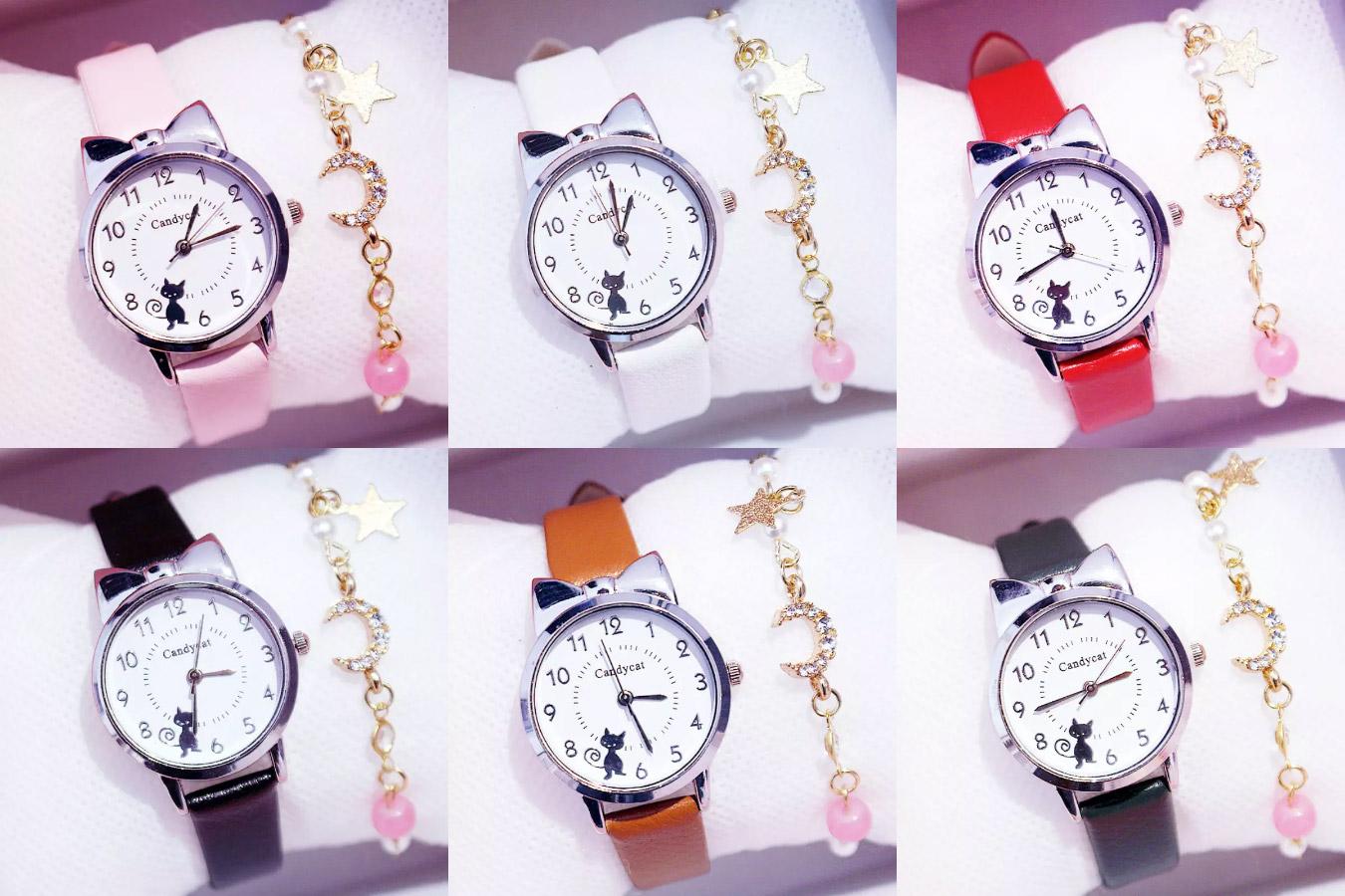 Стильные часы для девочки