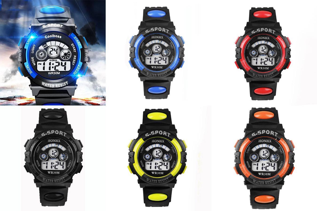 Цифровые часы для мальчиков