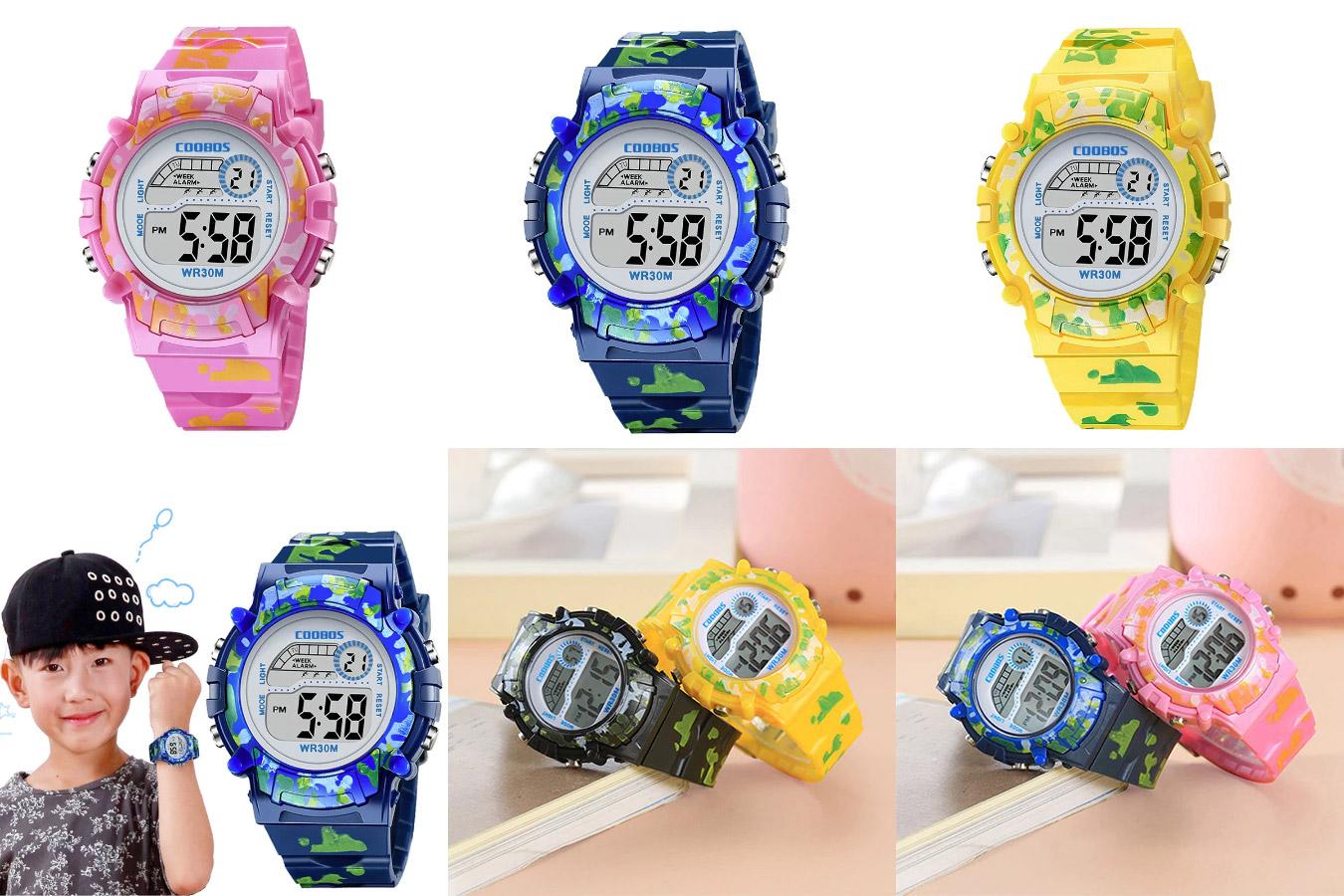 Детские камуфляжные часы