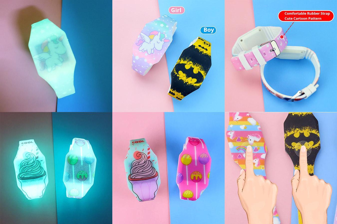 Светящиеся часы для детей