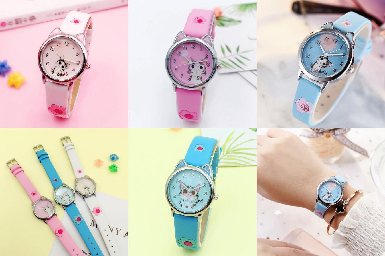 Часы кварцевые для девочек