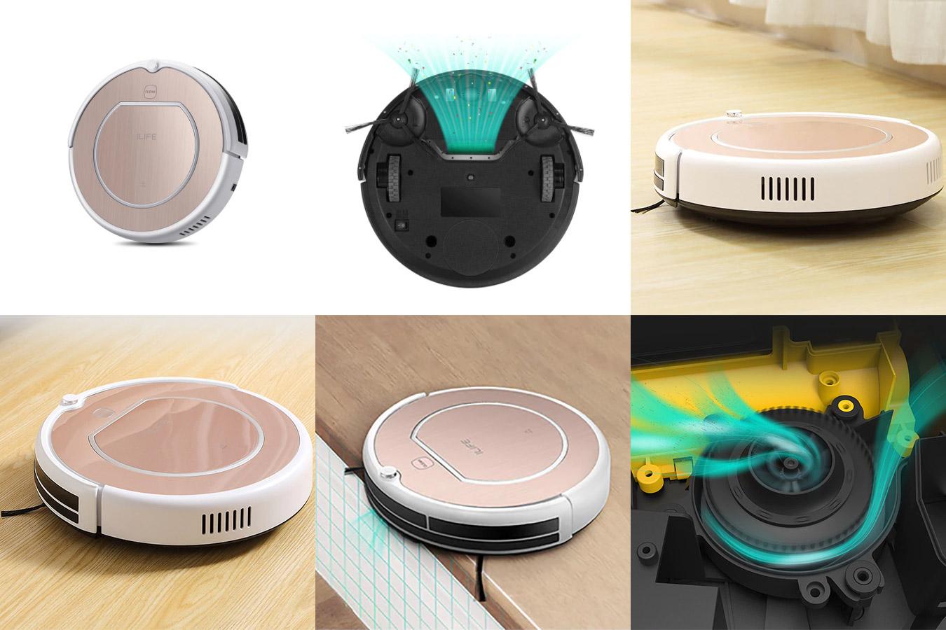 Робот-пылесос ILIFE с функцией памяти