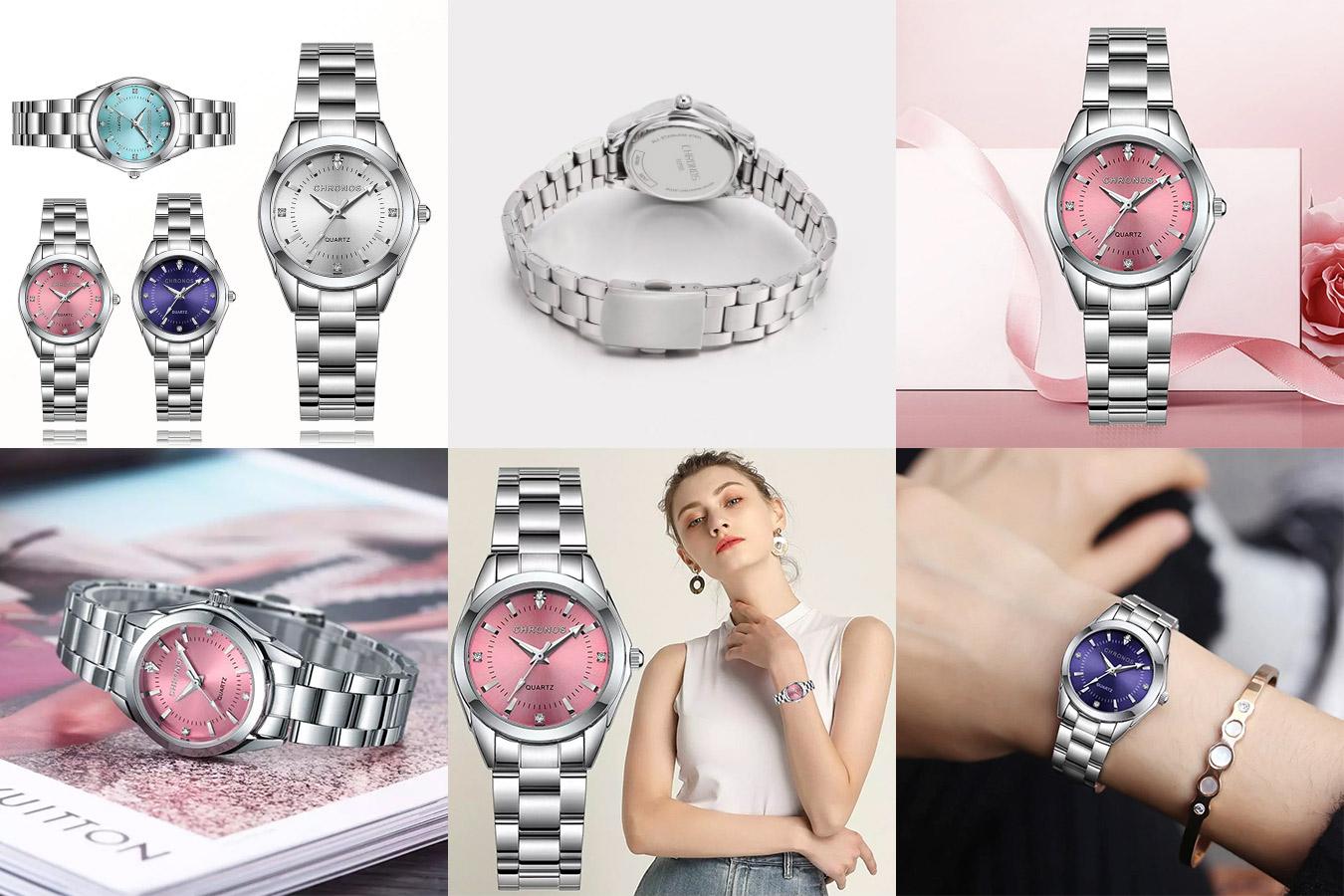 Роскошные женские часы CHRONOS