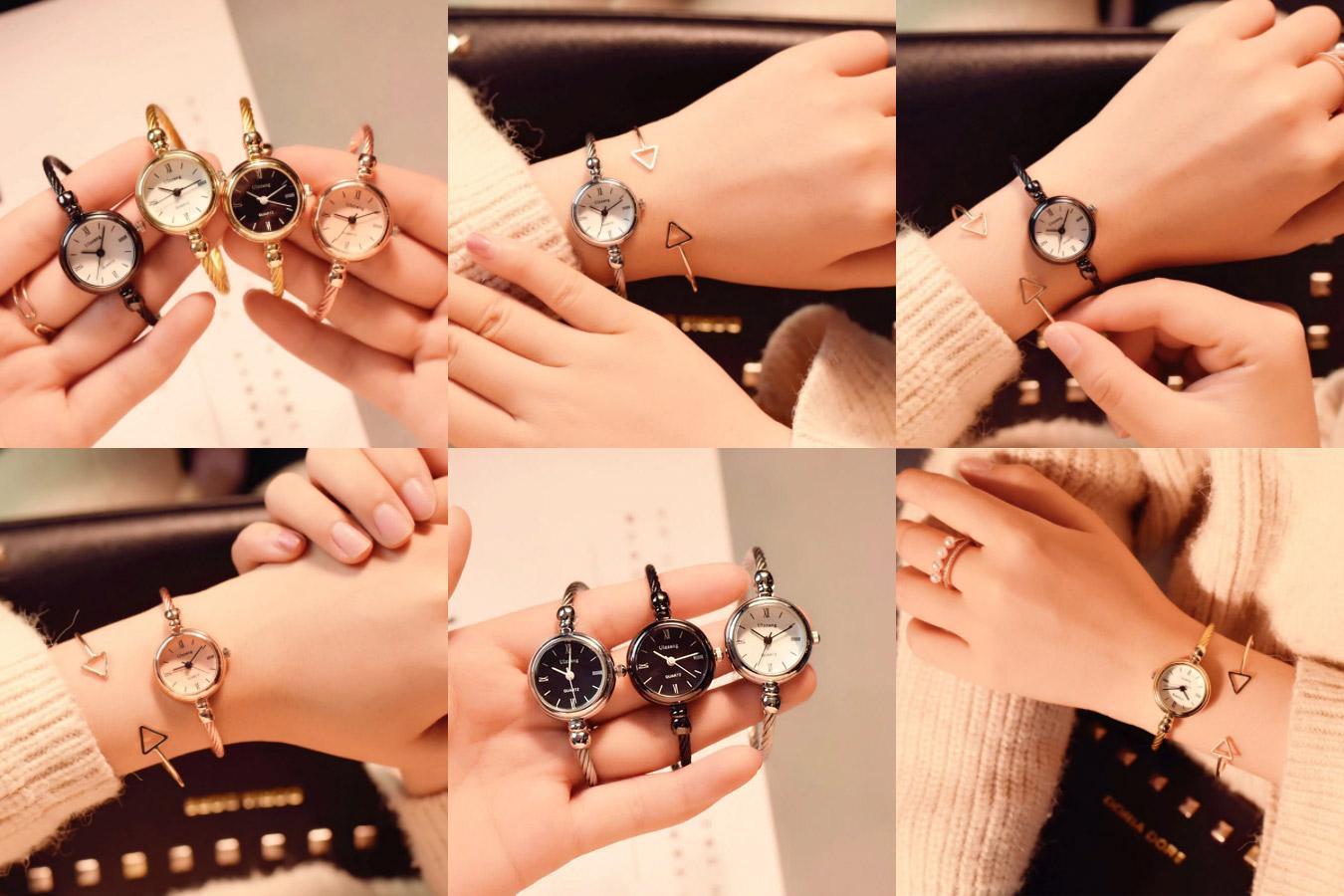 Женские часы в минималистичном стиле