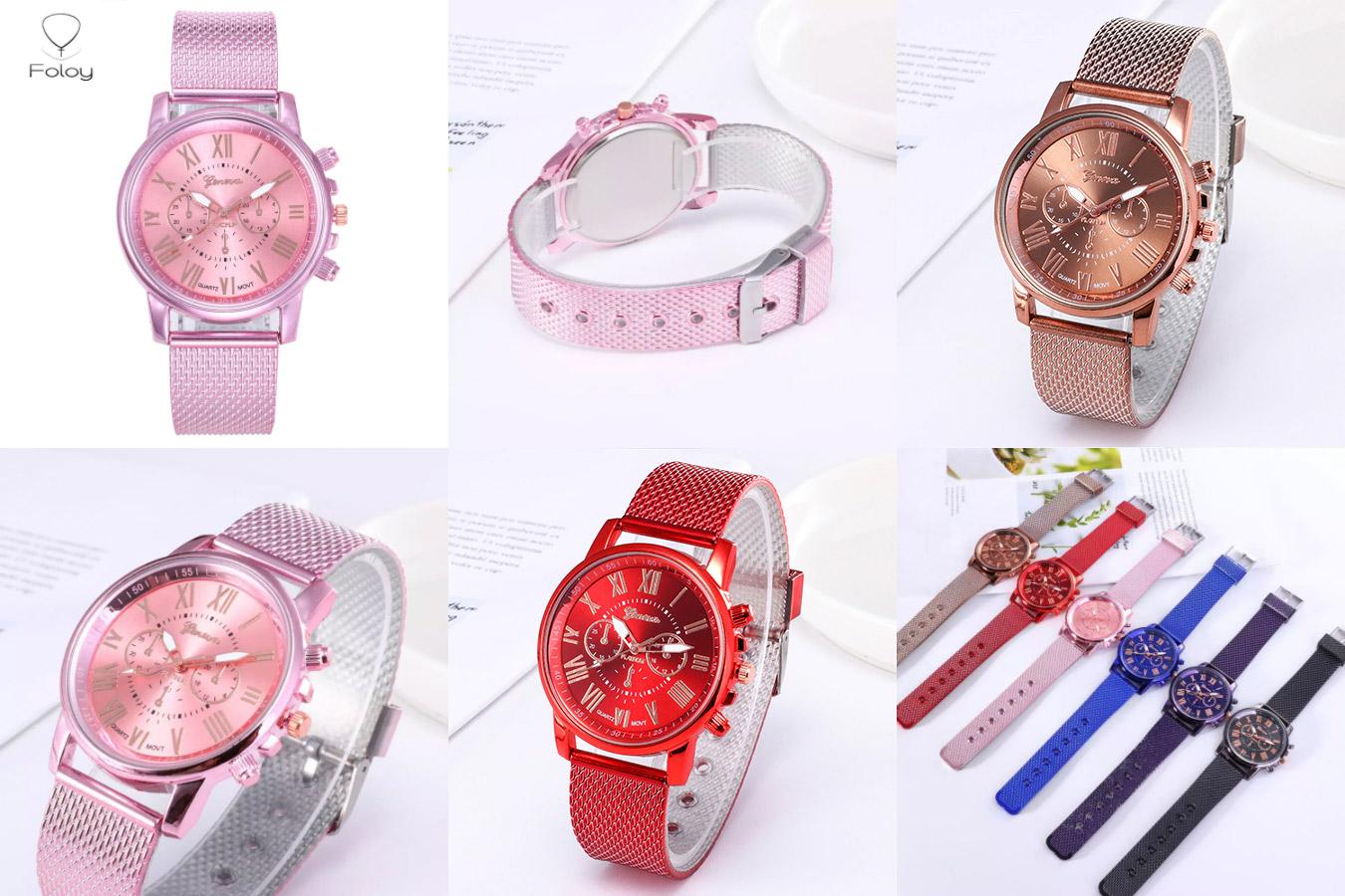 Яркие часы для девушек