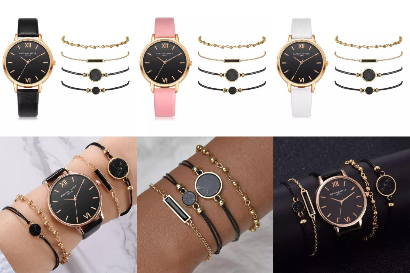 Женские часы с аксессуарами