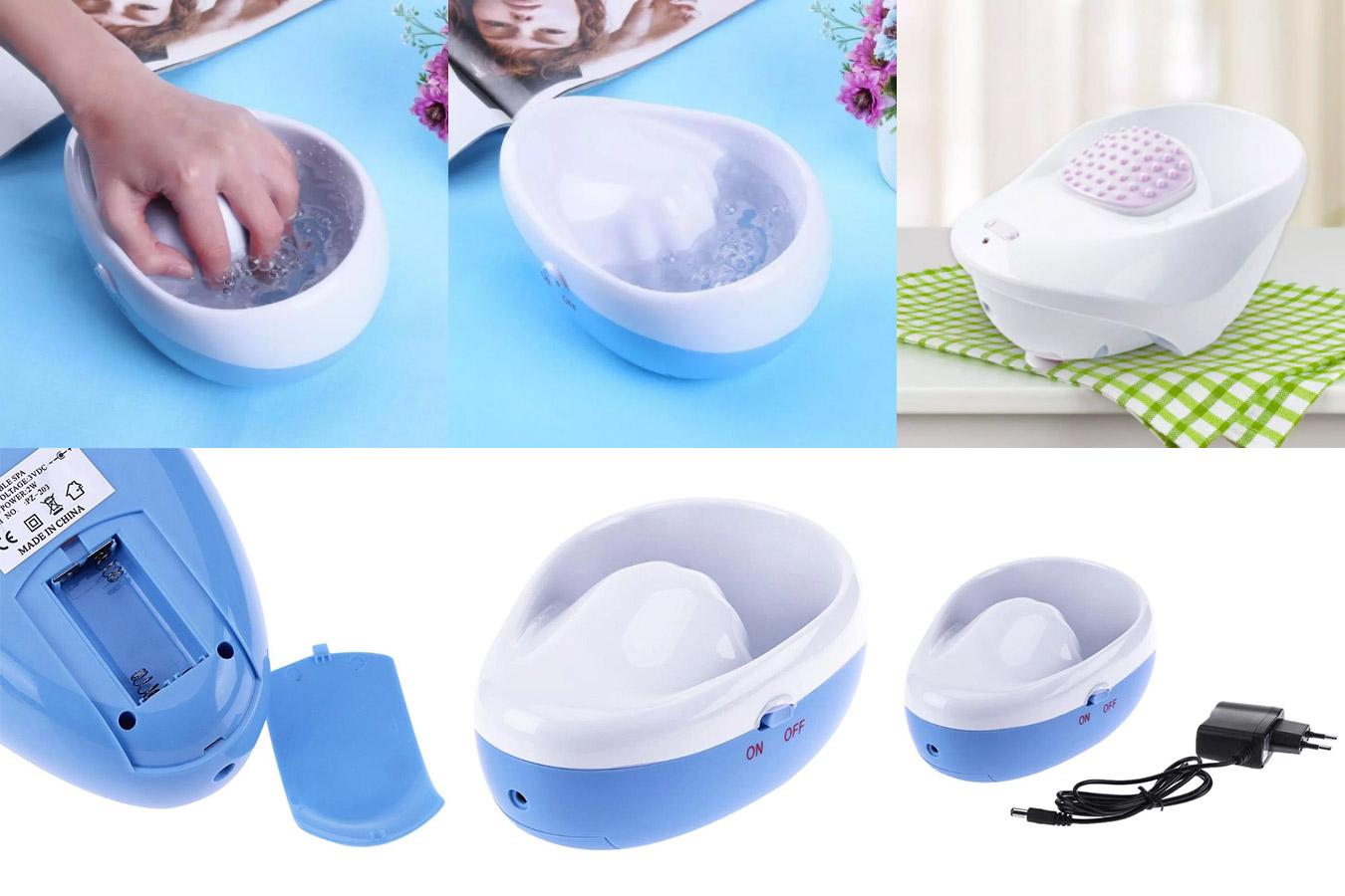 Гидромассажная ванночка для рук DIY