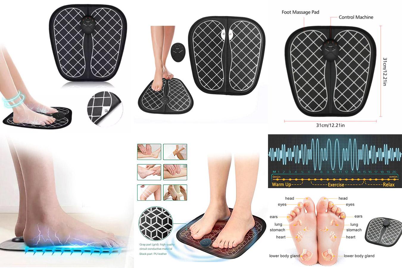 Электрический массажный коврик для ступней