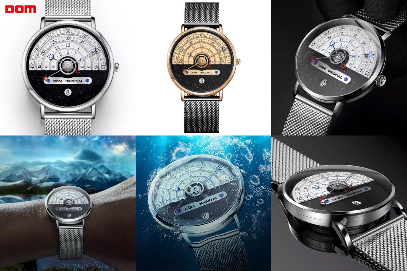 Необычные часы мужские часы