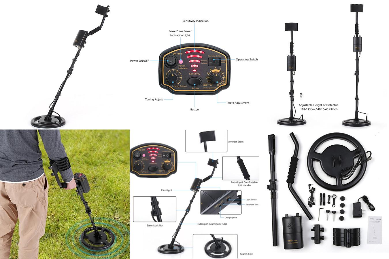 Глубинный металлоискатель для драгметаллов AR944M