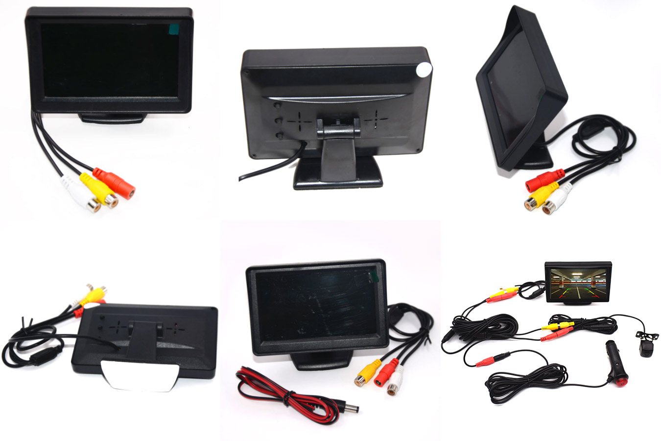 Легкий и функциональный монитор в автомобиль