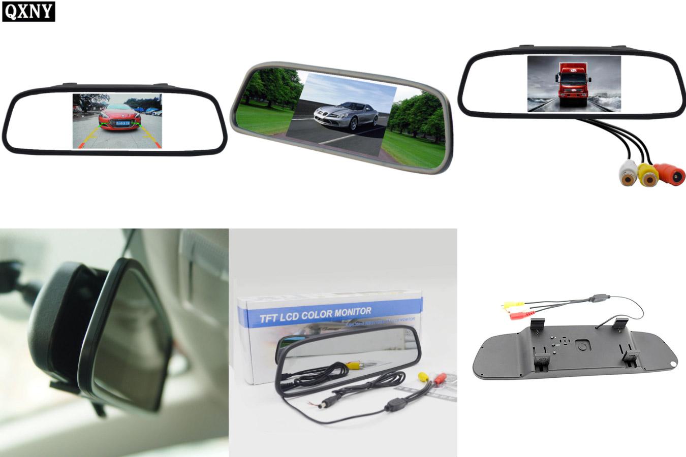 Монитор для авто под солнцезащитный козырек