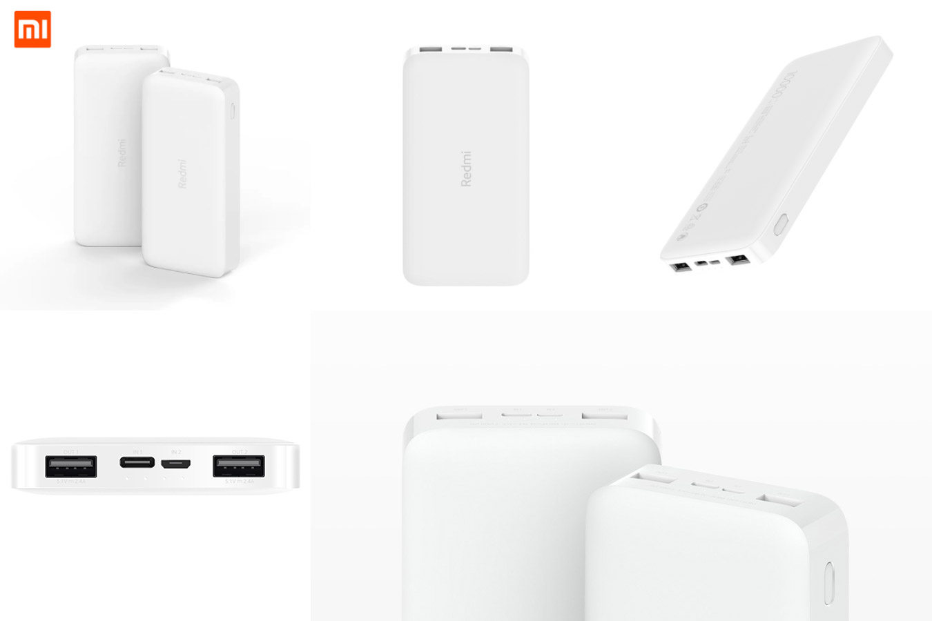 Стильный аккумулятор Redmi power bank