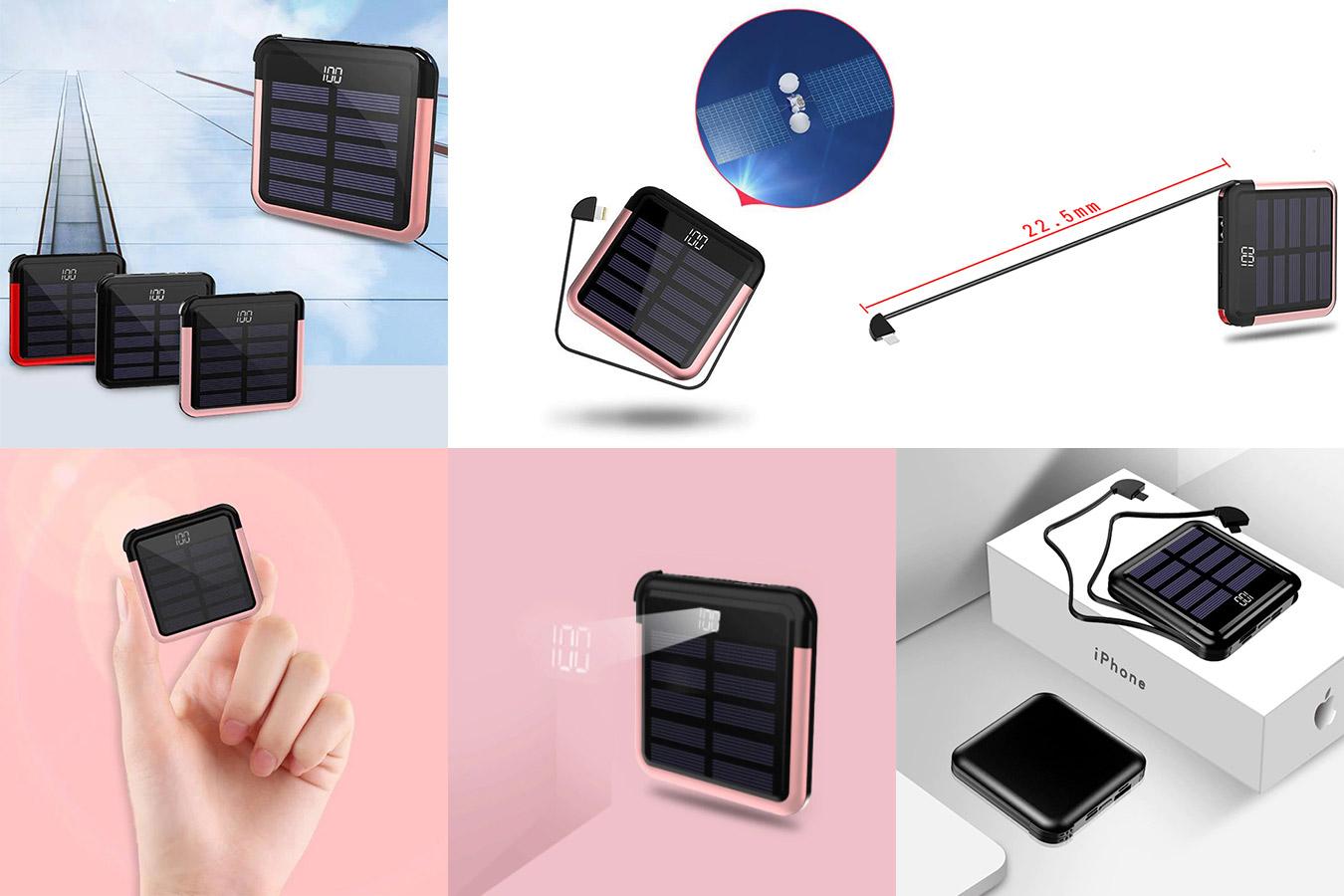 Солнечная батарея в миниатюре