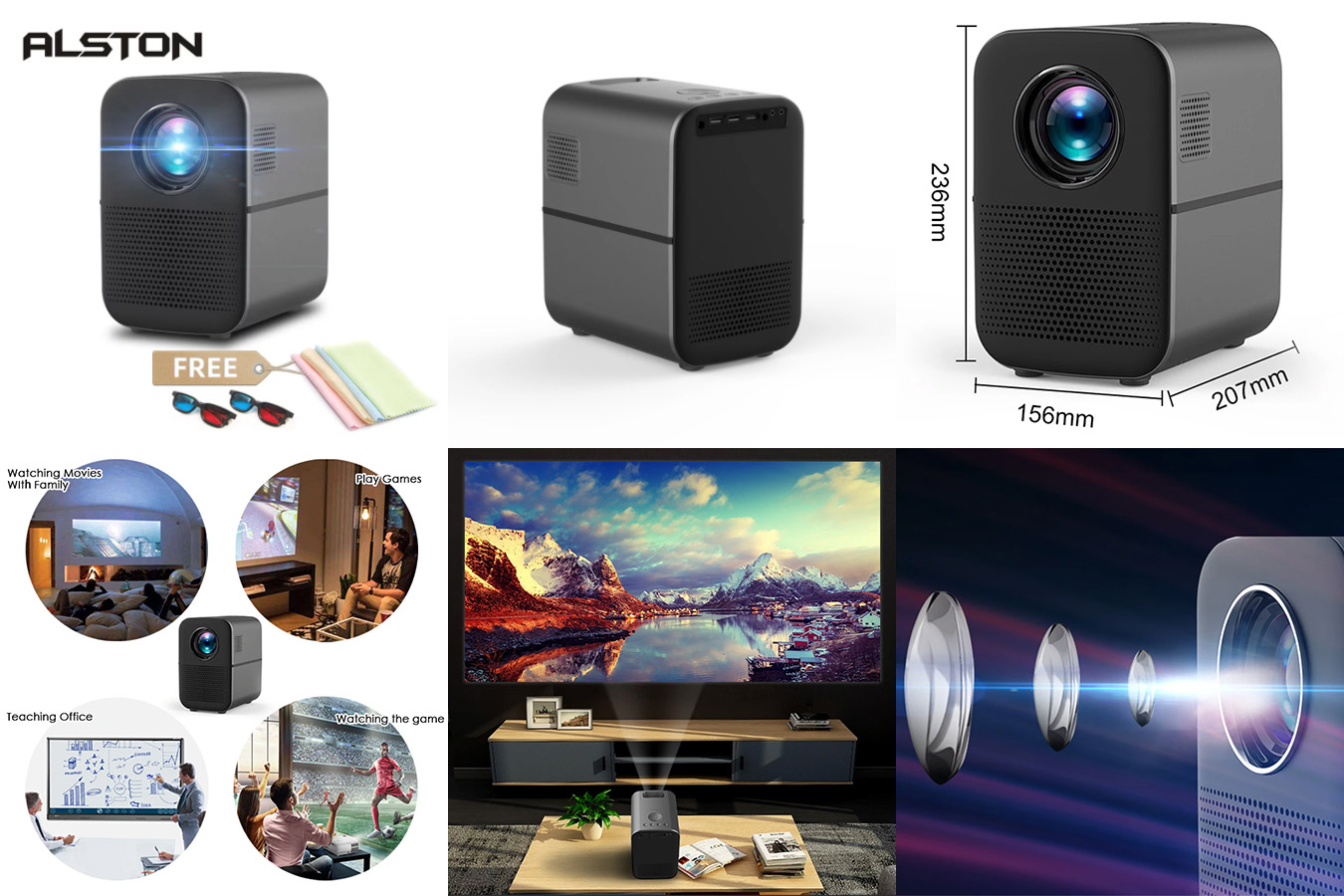 Видеопроектор для дома с поддержкой 1080p