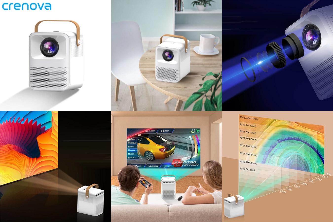 Современный светодиодный 3D мини-проектор