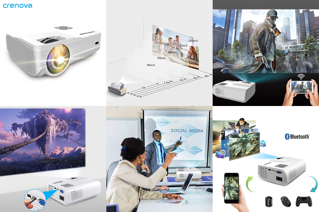 Светодиодный проектор для домашнего использования