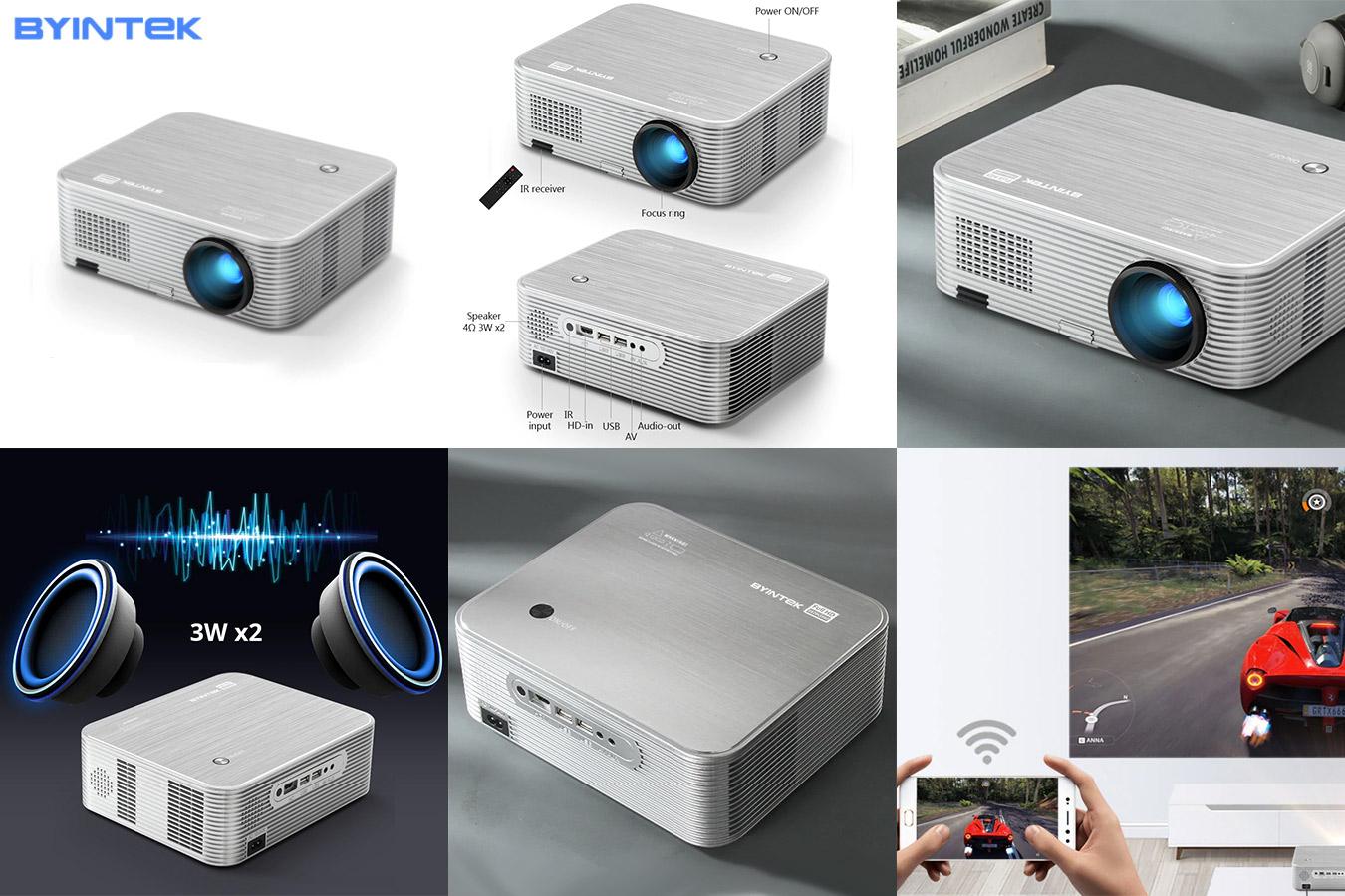 Мини-проектор для смартфона с Full HD