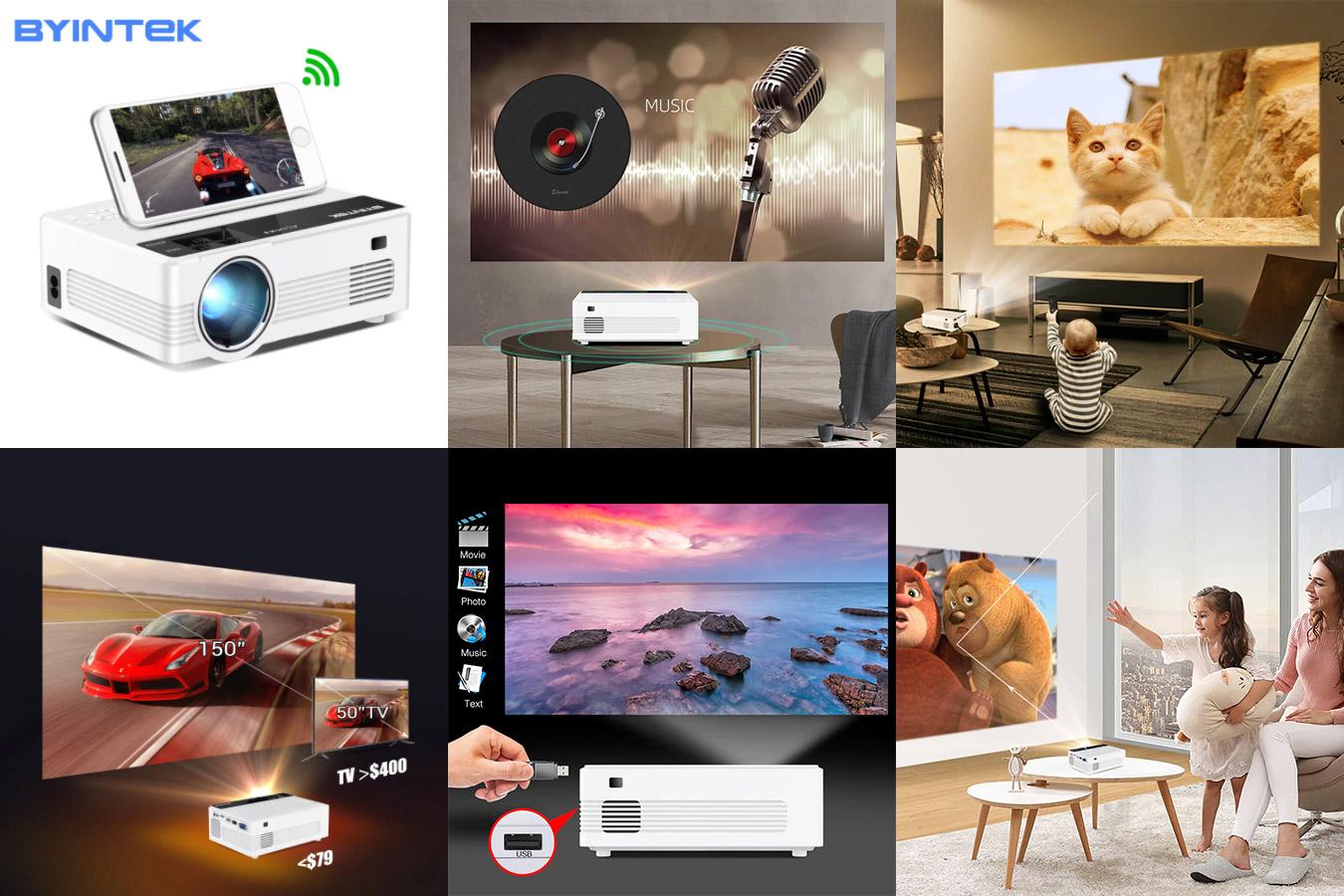 Многофункциональный проектор для мобильных устройств