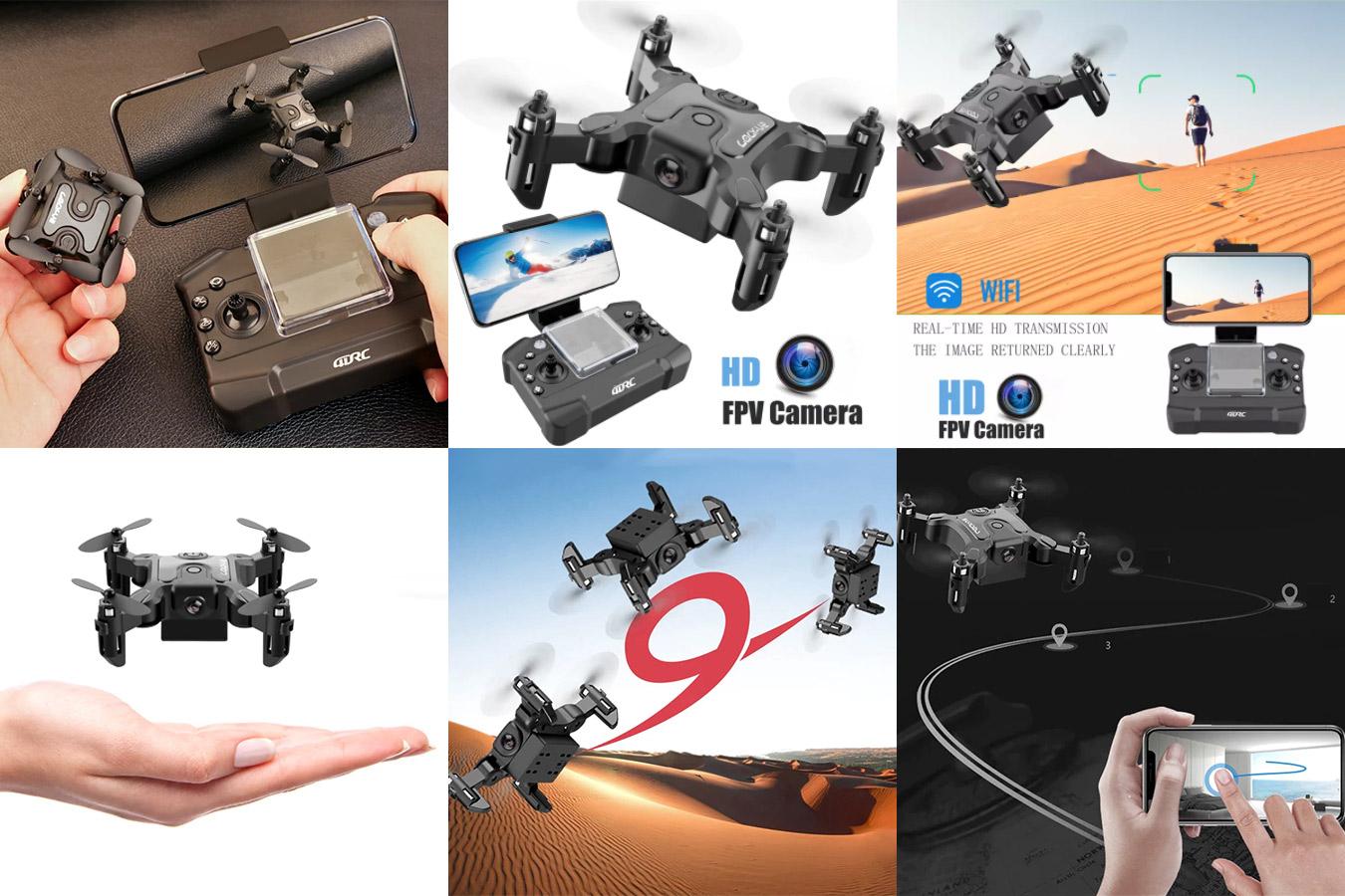 Мини-квадрокоптер с HD-камерой
