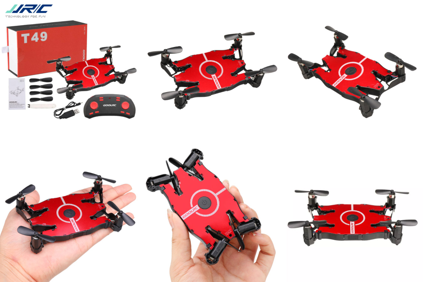 Ультратонкий миниатюрный квадрокоптер