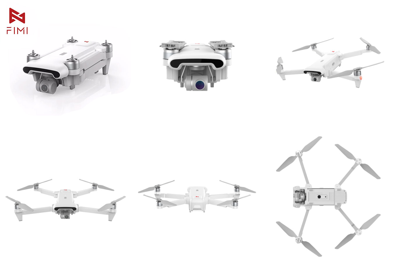 Профессиональный квадрокоптер FIMI X8SE