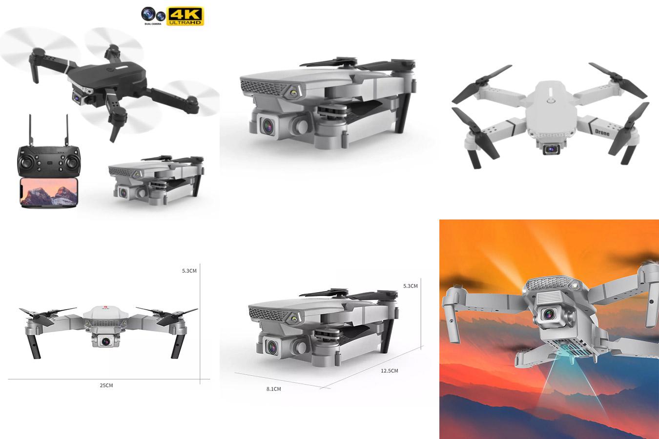 Квадрокоптер с широкоугольной камерой