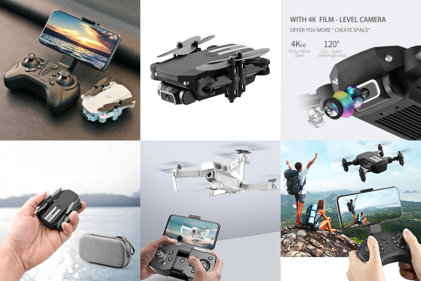 LS-MIN дрон с широкоугольной камерой