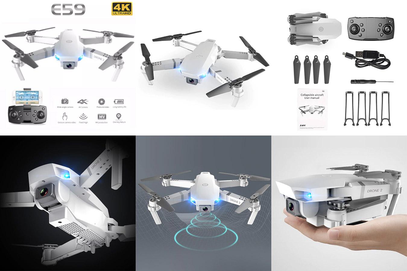 Квадрокоптер с 4К камерой