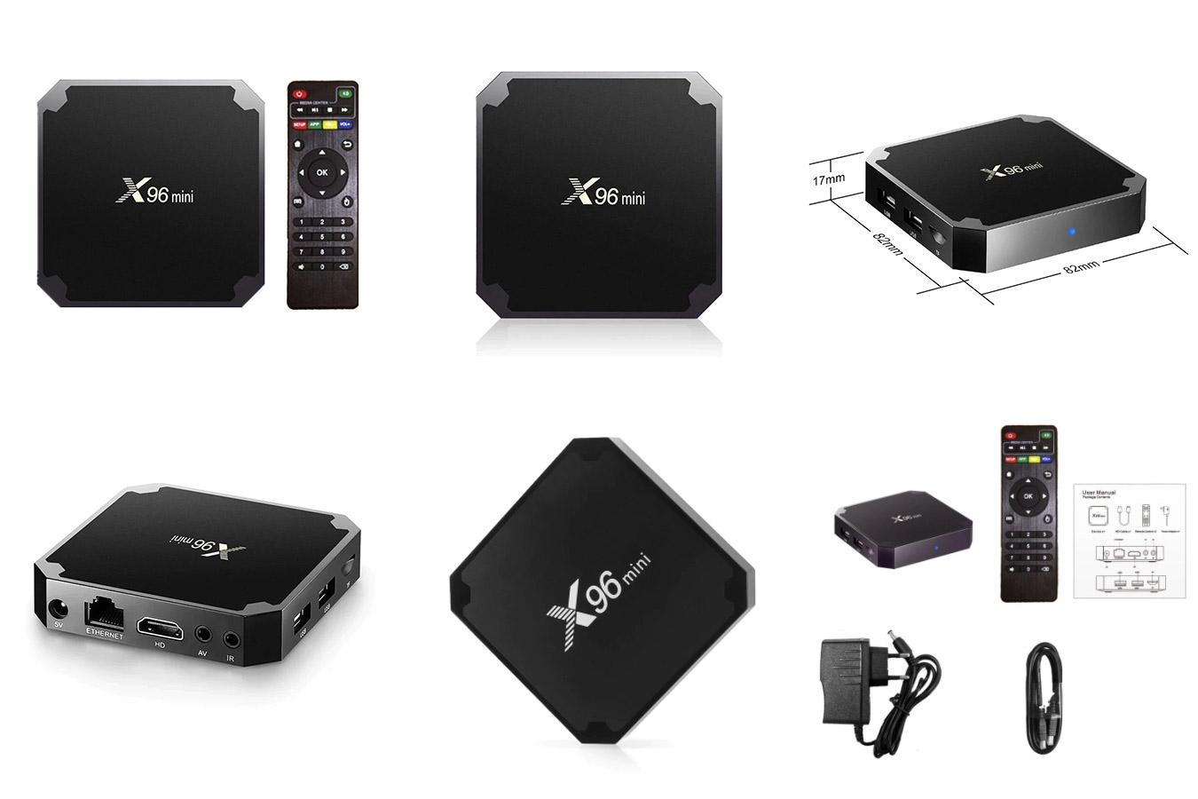 Мини-приставка Android TV Box IPTV