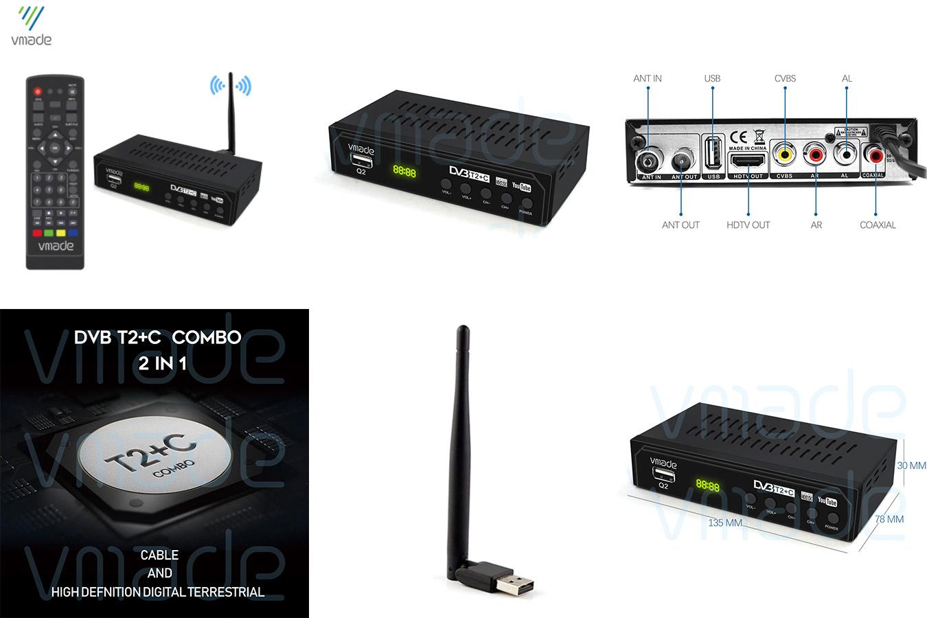 DVB T2 тюнер