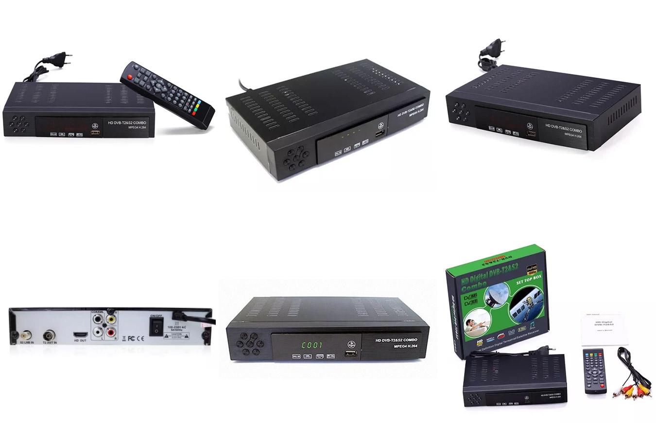 Спутниковый ТВ-приемник DVB T2