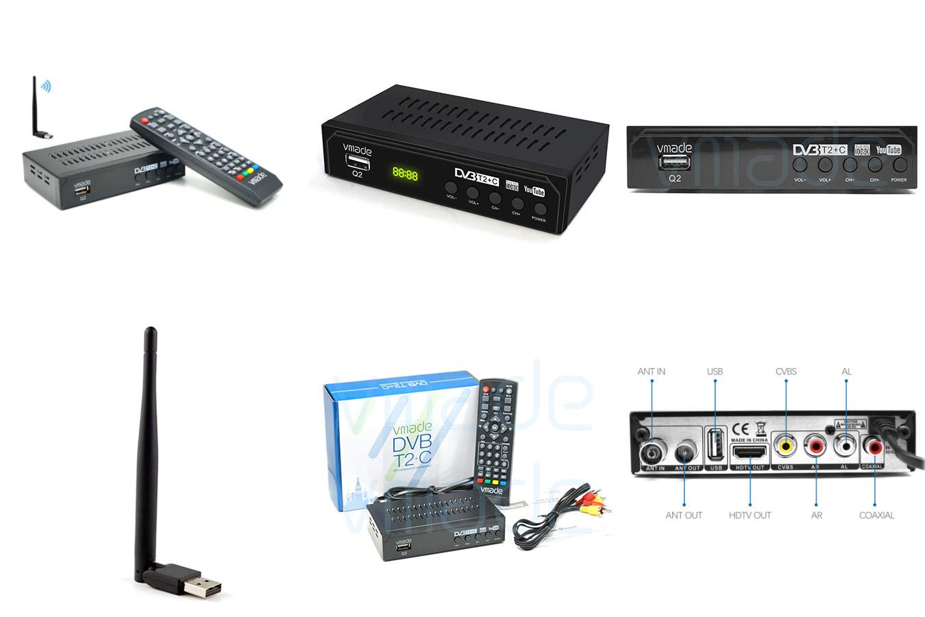 DVB-C комбо-тюнер