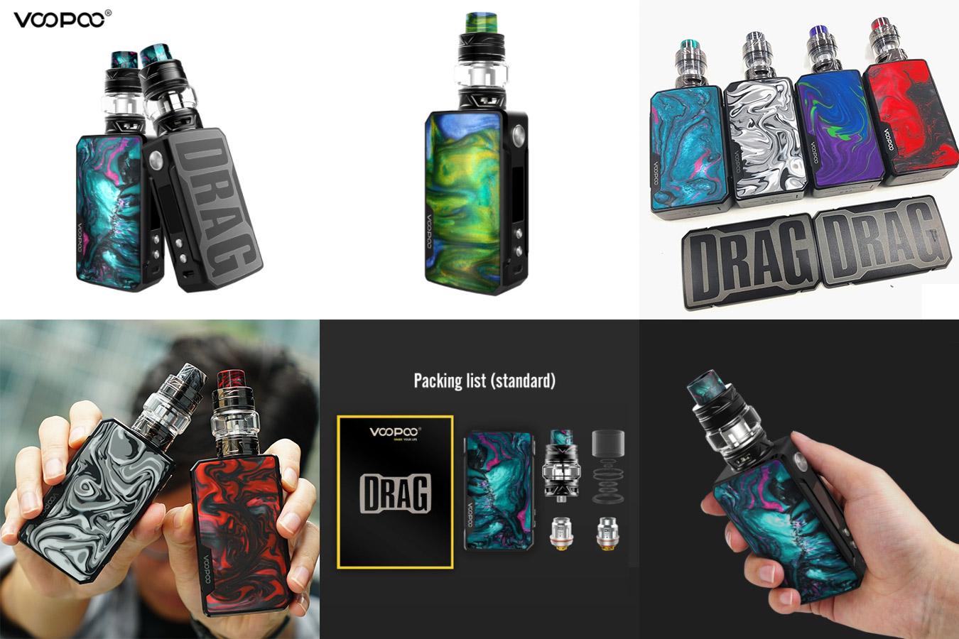 Стильный набор электронных сигарет с батареей