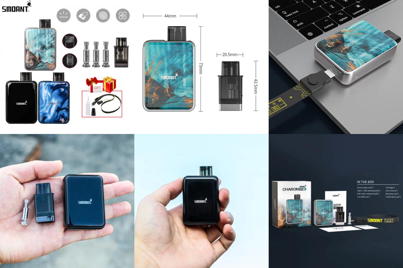 Новый стильный набор электронных сигарет