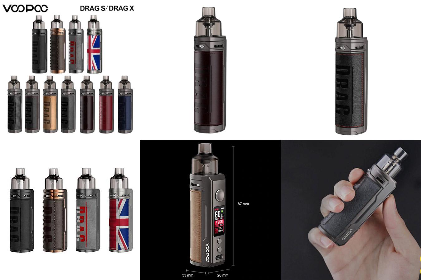 Электронная сигарета с разными дизайнами