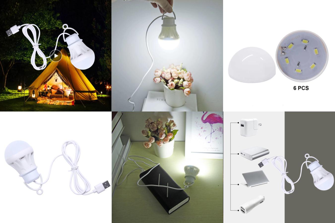 Кемпинговый портативный светильник для чтения