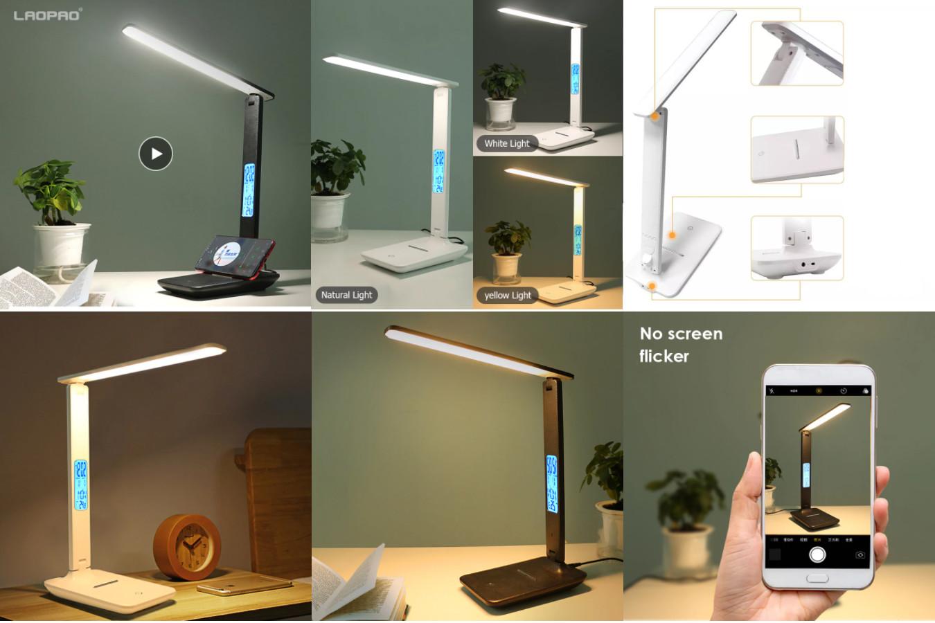 Технологичная настольная лампа