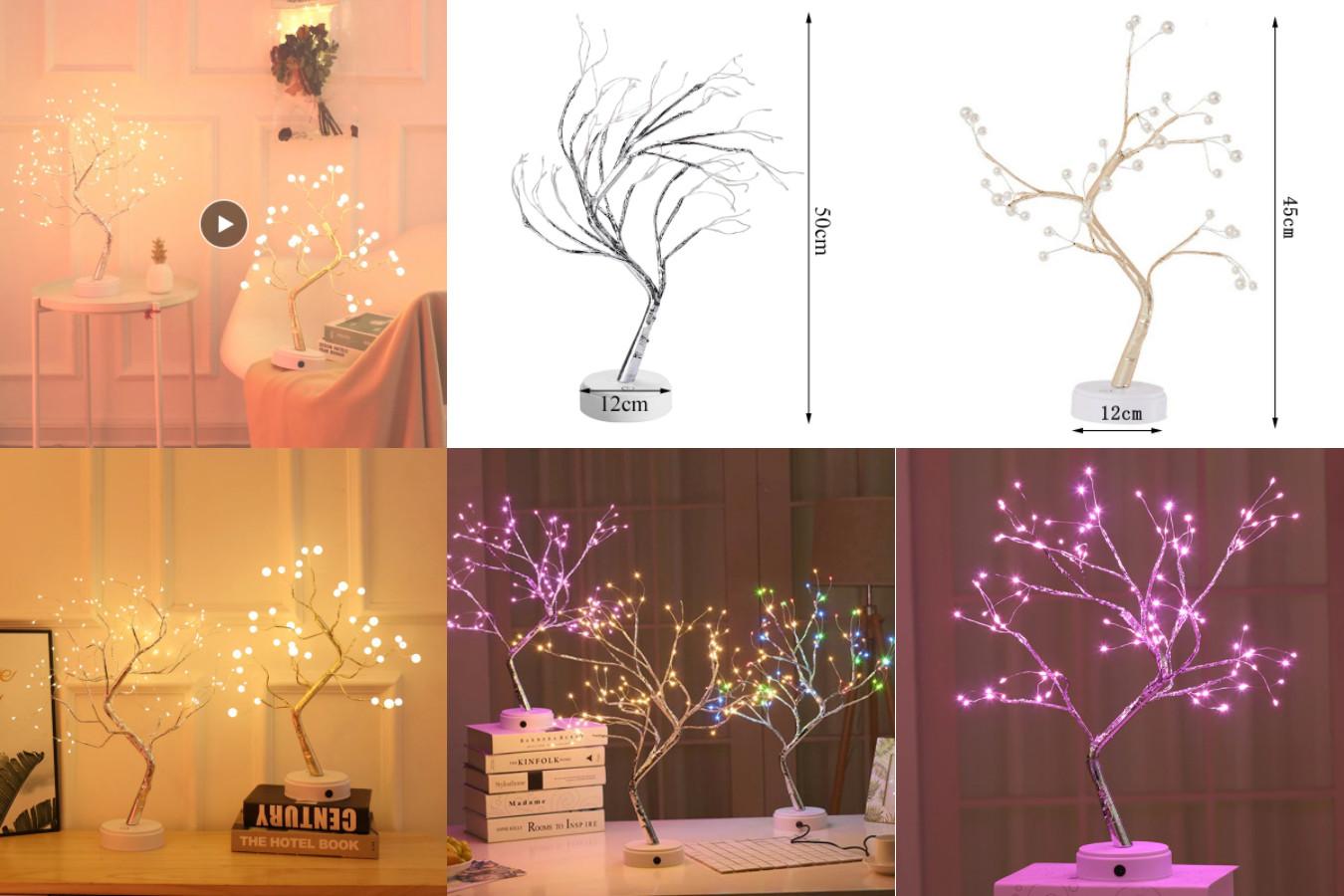 Светодиодный ночник - дерево